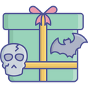 Gift Box Halloween Gift Present Icon