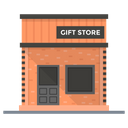Gifts Shop Marketplace Outlet Icon