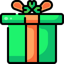 Giftbox Package Clover Icon