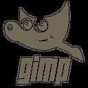 Gimp Plain Wordmark Icon