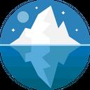Glacier Iceberg Nature Icon