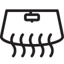 Glass And Interior Heating Car Icon