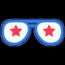 Party Glasses Eye Wear Eye Glasses Icon