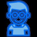 Kid Avatar Glassesboy Icon