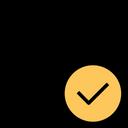 Globe Accept Check Icon