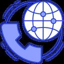 Global Communication International Calling Worldwide Call Icon