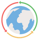 Global Information System Icon