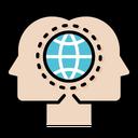 Globally Thinking International Guide Thinker Icon