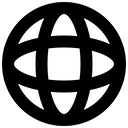 Globe Network Earth Icon
