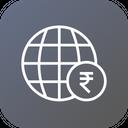 Globe Money Business Icon