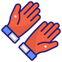 Gloves Motor Racing Icon