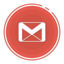 Gmail with dotted circle Icon