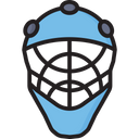 Goalkeeper Helmet Icon