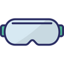 Goggles Swim Goggles Swim Gear Icon