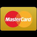 Gold mastercard Icon
