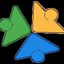 Goldenline Technology Logo Social Media Logo Icon