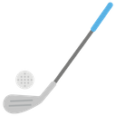 Golf Olympic Game Golf Stick Icon