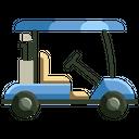 Golf Car Dune Buggy Golf Buggy Icon