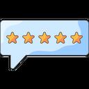 Good Review Good Feedback Happy Icon