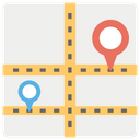 Gps Navigation Location Pin Location Marker Icon