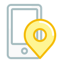 Gps Online Pin Icon
