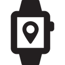 Gps Watch Icon