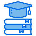 Book Graduation Cap Education Icon