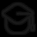 College Hat University Icon