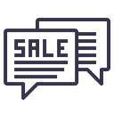 Grand Sale Advertising Icon