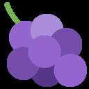 Grapes Fruit Emoj Icon