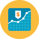 Graph Money Icon
