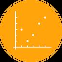 Graph Dot Chart Icon