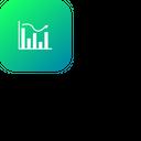 Graph Analysis Analytic Icon