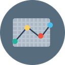 Graph Chart Statics Icon