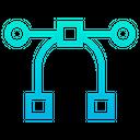 Graphic Editor Graphic Tool Nodes Icon