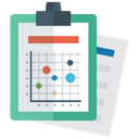 Graphical Representation Infographic Statistical Representation Icon