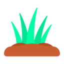 Grass Nature Spring Icon