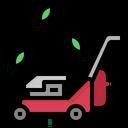 Mower Grass Leaf Icon