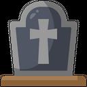 Graveyard Grave Tomb Icon