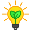 Lamp Energy Save Icon