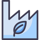 Green Factory Icon