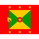 Grenada Flag Country Icon
