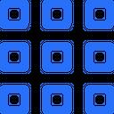 Grid Layout Design Icon
