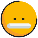Emoticon Emoji Grimacing Icon
