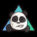 Grinning Panda Icon