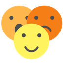 Group Face Emotion Icon