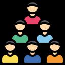 Group Team Team Work Icon