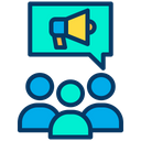 Meeting Training Marketing Discussion Icon