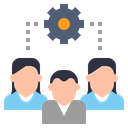 Group Cluster Collection Icon