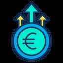 Grown euro Icon